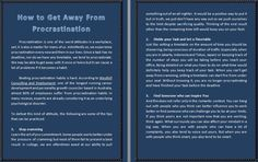 How to Get Away From Procrastination