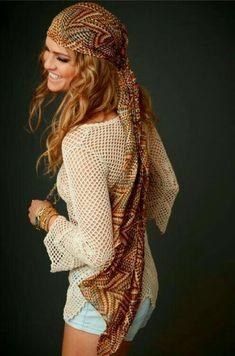American gypsy hippie