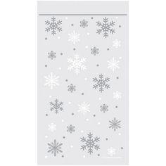 Snowflake Zipper Treat Bags