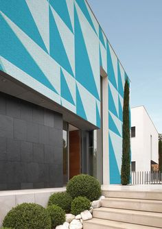 Outdoor wallpaper by Wall & Deco