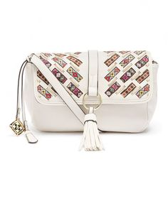 Look at this Nanette Lepore Ivory Yorkshire Crossbody Bag on #zulily today!