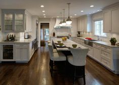 L-Shaped Kitchen Design Perfected – Hinsdale, IL
