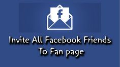 How To Invite All Facebook Friends in One Click To Like Your Facebook Page [ Updated ] | TechHints.in