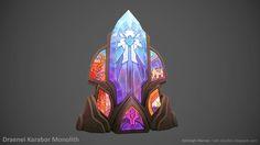 ArtStation - Draenei Karabor Monolith, Ashleigh Warner