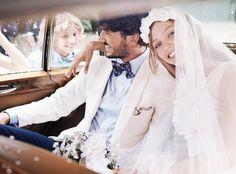 Gant's Wedding Day for Sasha Pivovarova To see the video  http://www.maxitendance.com/2014/02/gant-printemps-ete-2014-campagne-sasha-pivovarova-mariage.html