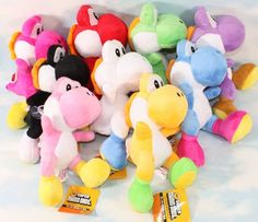Yoshi plush toys