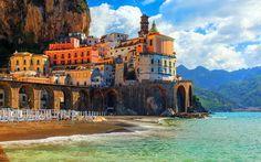 Atrani, Amalfi-part, Olaszország