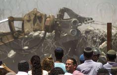 """EE.UU., """"profundamente preocupado"""" por la construcción de viviendas en Cisjordania"""