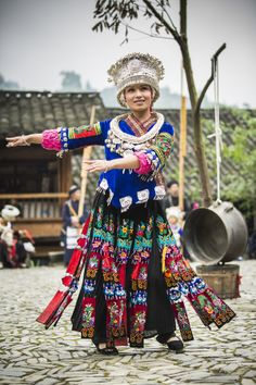 A Miao Dancer by William Yu on 500px | Langde Miao Village, Guizhou, China
