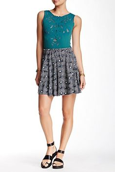 Free People So Much Sun Skirt