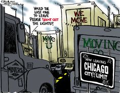 now leaving Chicago city limit