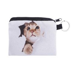 Cute Girl printing coins change purse Clutch zipper animal priting wallet phone key bags mini women wallets carteira
