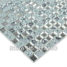 Quality Crystal Glass Wall Tiles Mirror Tile Backsplash Kitchen ideas Mirror Mosaic Tile designs Bathroom Mirrored Wall stickers with free worldwide shipping on AliExpress Mobile Mirror Mosaic, Mirror Tiles, Wall Tiles, Mirror Glass, Glass Tile Backsplash, Kitchen Backsplash, Backsplash Ideas, Mosaic Tile Designs, Mosaic Tiles