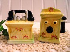 Talk Talk Talk  Retro Telephone Shakers by mamiezvintage on Etsy,  13.95