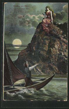 38 Best Lorelei Images Sirens Art Fairy Tales
