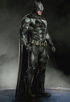 Justice League Concept Art by Jerad Marantz - Batman Poster - Trending Batman Poster. - Justice League Concept Art by Jerad Marantz Batman Painting, Batman Artwork, Batman Comic Art, Batman Vs Superman, Batman Robin, Batman Concept Art, Marvel Dc, Batman Redesign, Tactical Suit