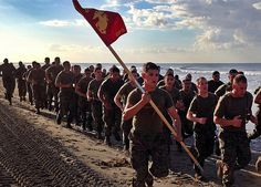 Gonna run, run, run 'til the running's done! (U.S. Marine Corps photo by Sgt. Fiocco/Released)