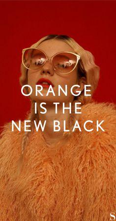 Orange Style, Orange Is The New Black, Orange Fashion, Colours, Movies, Movie Posters, Clothing, Films, Film Poster