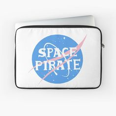 Space Pirate, Laptop Case, Back To Black, Laptop Sleeves, Pirates, My Arts, Art Prints, Awesome, Stuff To Buy