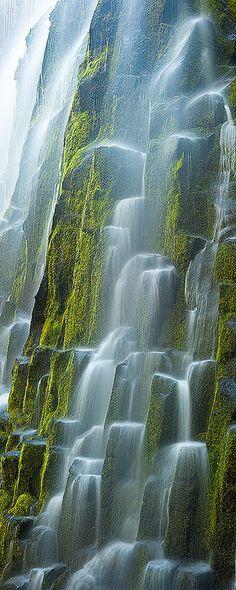 Ramona Falls at Mount Hood, Oregon by Ryan Hellard