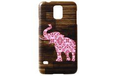 Light Pink Elephant Wood Grain Phone Case... Need something similar!