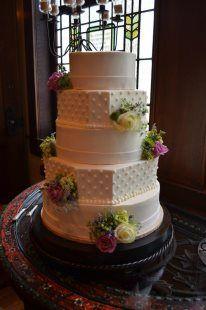 Bridal cake - at Old Glory Ranch #weddingcakes www.oldgloryranch.com  www.facebook.com/oldgloryranch