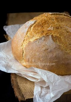 Chleb pasterski Daily Bread, Chocolate Cake, Bread Recipes, Deserts, Rolls, Food And Drink, Pizza, Baking, Breads