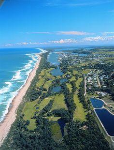 Lakes Entrance Golf Course On the 90 Mile Beach. Victoria. #Australia #travel
