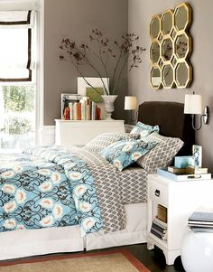 1000 images about Turquoise and Brown Bedding on