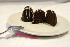 HARINA Y HUEVO: Pastelitos de chocolate