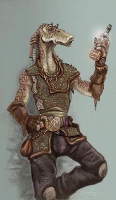 Gungan Smuggler by StuCunningham.deviantart.com