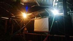 Construyendo un cine - creating a cinema