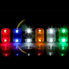 Nueva Fantastic Bicicleta Linterna Estroboscópica LED Luz De Advertencia de Seguridad Luz de La Bicicleta con La Batería Marco Manillar Luz de la Rueda Delantera