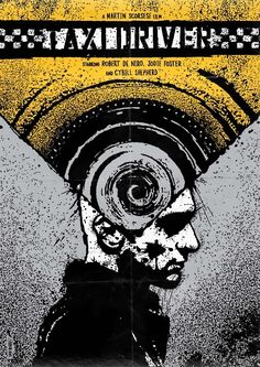 Taxi Driver - movie poster - Daniel Norris