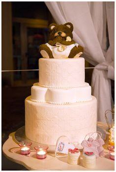teddy bear  Cake by Dolci Architetture