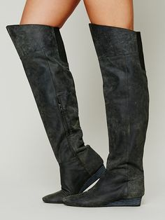 farylrobin + Free People Day To Night Tall Boot at Free People Clothing Boutique