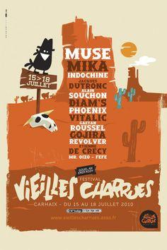 affiche festival vieilles charues 2010