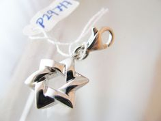 Sterling Silver 3D Star of David  charm - NWOT 3.8 grams lobster claw clasp #iwi #Traditional