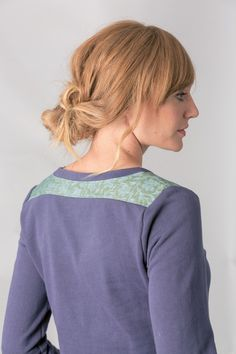 AGRA KITE - Sweater - blue