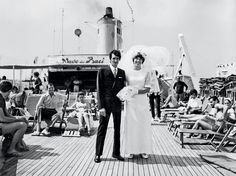 """""""The Love Boat"""" - New York Times article  by Stephen Heyman sharing his romantic story of getting married on Cunard Line's Transatlantic Crossing."""