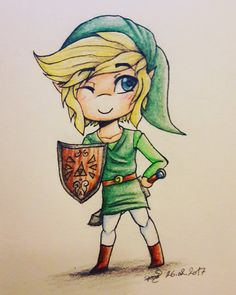 Hhh I still love The Legend of Zelda aaaaa yes I drew Link this time I thought it was time for some traditional art again and sry the quality is s. The Hero of Time Legend Of Zelda, Traditional Art, My Drawings, My Arts, Hero, Deviantart, Fictional Characters, Heroes, Fantasy Characters
