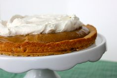browned butter butterscotch custard tart; rich, complex, brown buttery filling, the cookie-like shortbread crust, and the light whipped cream are meant to be a treat