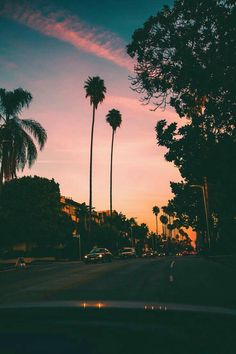 54 Ideas Summer Nature Photography Trees Sky For 2019 California Palm Trees, Palm Tree Sunset, California Sunset, Sunset Beach, Pretty Sky, Beautiful Sky, Beautiful Places, Summer Wallpaper, Nature Wallpaper