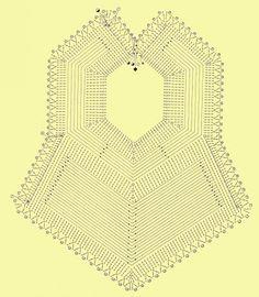 """""""Casos y Cosas de Mi Casa"""": Baberos tejidos a ganchillo o crochet"""