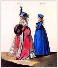 morning dresses. January 1797