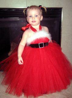Tutu santa dress!!