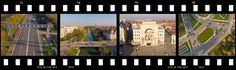 Povestea clipului cu Timisoara realizat in intregime din filmari aeriene din drona. Povestea EYE IN THE SKY.