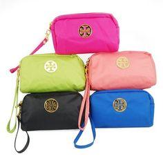 46e69d0ca2 Travel Cosmetic Bag Assorted Color Zipper Coin Purse Multi Purpose (Rose)  by World Pride