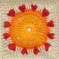 Sunflower detail 1 by renatekirkpatrick, via Flickr