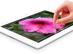 The new iPad 4G with Retina Display.